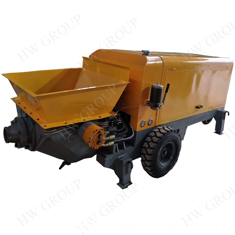 Large Concrete Transfer Pump