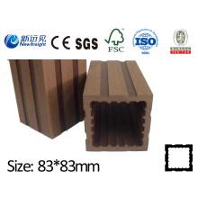 WPC Post para Fence com SGS CE Fsc, Composto de Madeira de Qualidade de Esgrima Composto Lhma030