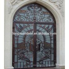 Porta de ferro forjado barata portas de aço exterior usadas à venda Escolha de qualidade
