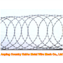 Razor Wire Fence / Barbed Razor Wire / Galvanized Razor Wire / PVC couper le fil de rasoir / fil barbelé ---- usine de 30 ans