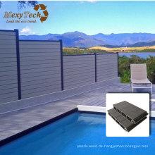 WPC-Zaun, angewendet auf Swimmingpool auf Thehotel / Haus