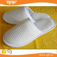 Pantoufle d'hôtel de gaufre de coton (DPFT80134)