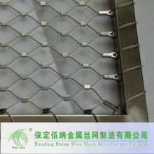 alibaba China supplier stainless steel wire rope mesh net /cable rope mesh