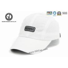 Hochwertige Großhandels-Polyester-laufende Golf-Hut-Sport-Kappe