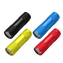 Mini 9LED linterna linterna de la venta al por mayor del precio de fábrica