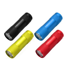 Mini 9LED Flashlight Factory Price Wholesale LED Flashlight