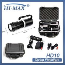 La plus haute qualité à main haute lumens imperméable à l'eau profonde plongée Brightest China HID lampe de poche