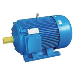three phase ac electrical motor with high efficiency