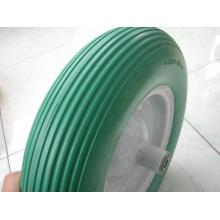 Roue en caoutchouc de mousse d'unité centrale / roue durable de mousse d'unité centrale Alibaba Chine fournisseur