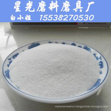99.9% Al2O3 White Fused Alumina for Sandblasting Media
