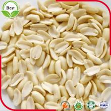Split Blanchierte Erdnusskerne mit guter Qualität