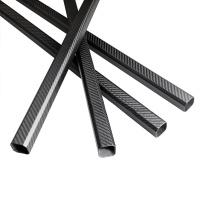 20X30mm carbon fiber rectangular tube for hexacopter
