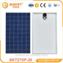 недорогих Поли 275 Вт фотоэлектрических модулей 1000 ватт солнечной панели цена в Индии