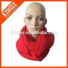 Vente en gros chaud nouveau style de haute qualité écharpe en tricot à l'infini
