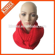 wholesale warm new style high quality fashion knit infinity scarf