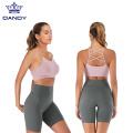 Calças de cintura alta para ioga e roupas para ioga