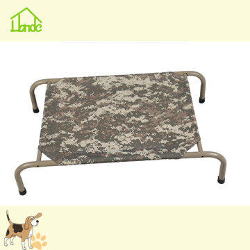 Cama do cão do frame do metal, cama do animal de estimação com frame do metal