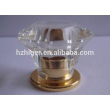 Aluminum alloy metal perfume essential oils screw bottle caps