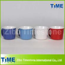20oz Ceramic Soup Mug with Plastic Lid