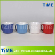 20oz Ceramic Soup Mug with Plastic Lid