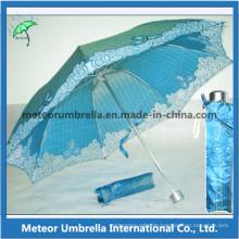 Gift Items Folding Umbrella Parasol for Sun and Rain
