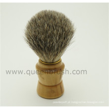 Última escova de barba de texugo profissional