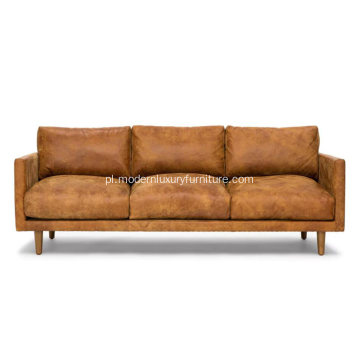 Skórzana sofa Nirvana Dakota Tan