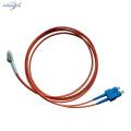 cabo de remendo da fibra óptica do sc sx milímetro