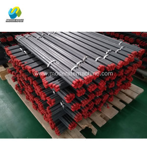 Hollow drill rods for rock drill for YO18,YT24