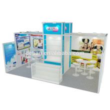 Oferta de cabine de exposição portátil da Detian de tamanho diferente