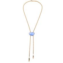 Simple y elegante de lujo damas collar