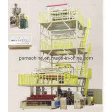 Máquina de soplado de la película de la coextrusión de 3 capas (CE) (3SJG-1000, 1200, 1300)