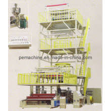 3 Layers Co-Extrusion Film Blowing Machine (CE) (3SJG-1000, 1200, 1300)