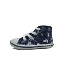 China Wholesale Children High Top Canvas Shoes (H287-S)