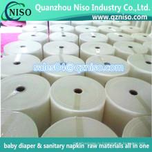 Лучшее качество PP спанбонд мягкий Гидрофильный нетканый материал для пеленки младенца