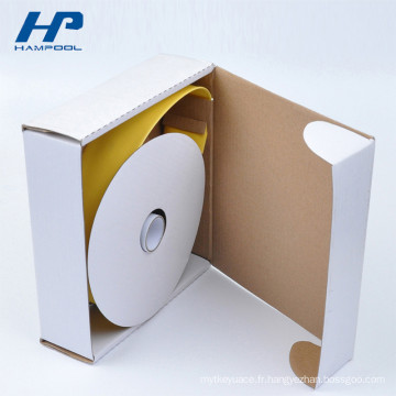 Boîte en carton ondulée blanche de haute qualité de carton dur