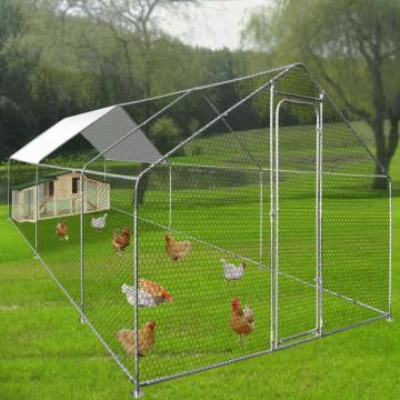 Walk in Chicken Run Contenitore per polli all'aperto di grandi dimensioni