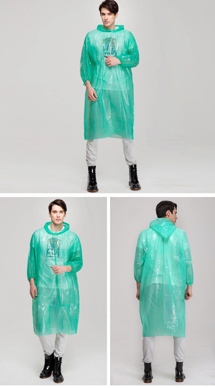 one time raincoat