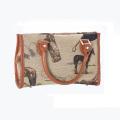 Hermosa bolsa de asas de impresión de deportes al aire libre