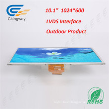 10.1 Inch 200 CD/M2 TFT Lvds Interface LCD Panel