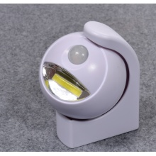 360 degree wireless rotationg Motion sensor led lights
