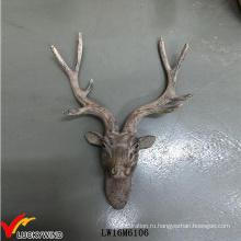 Винтажная декоративная настенная голова оленя