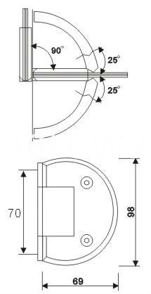 Hinges For Glass Door