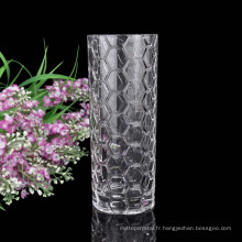 vente en gros brillant verre vase cristal verre décoration créatif table verre vase fleur vase