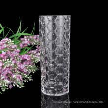 atacado vaso de vidro brilhante decoração de vidro de cristal criativo vaso de flor vaso de vidro de mesa