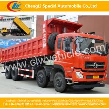 Caminhão de caminhão basculante 340HP Dongfeng 8 * 4 / caminhão basculante