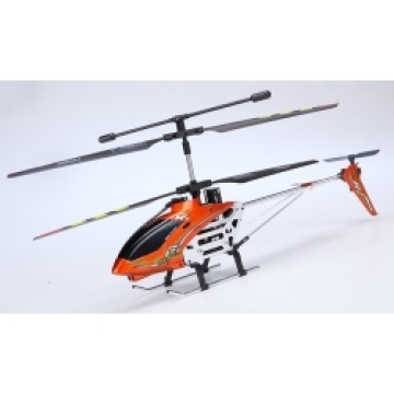 3.5ch RC helicopter with Gyro red