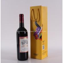 Botella promocional de papel bolsas de vino