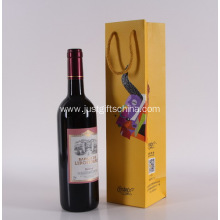 Promotional Single Bottle Paper Wine Bags
