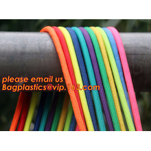 Children develop amusement projects supporting braided rope,  for weaving various promotional instruments and others.